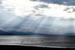 石狩湾の夕景