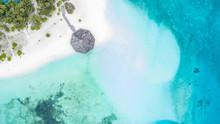 Aerial Top View Tropical Islan...