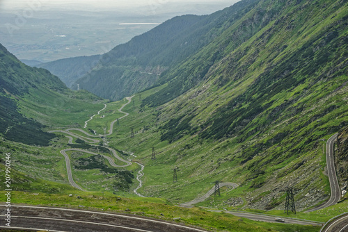 Spoed Foto op Canvas Khaki Road trip true the wonderful nature and landscape of Romania