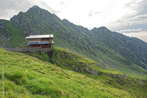 Foto op Canvas Pistache Road trip true the wonderful nature and landscape of Romania