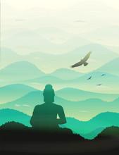 Buddha In Meditating