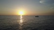 Sunset and Boat Silhouette in the Gulf of Thailand 2