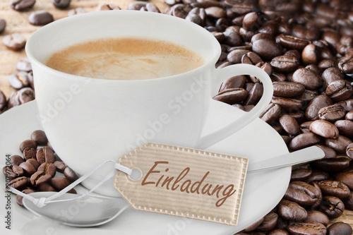 einladung zum kaffee