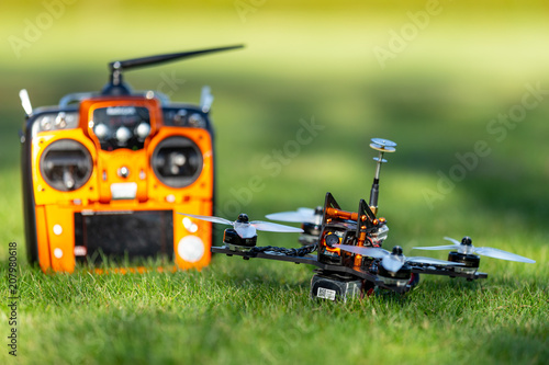 Photo  FPV drone racer