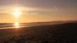 beach sunset timelapse