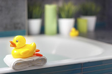 Yellow Duck In The Bathroom, I...