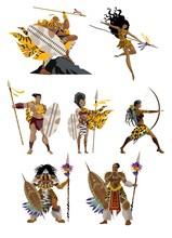 Powerful African Warriors