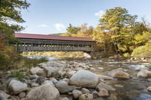 Swift River And Albany Covered Bridge