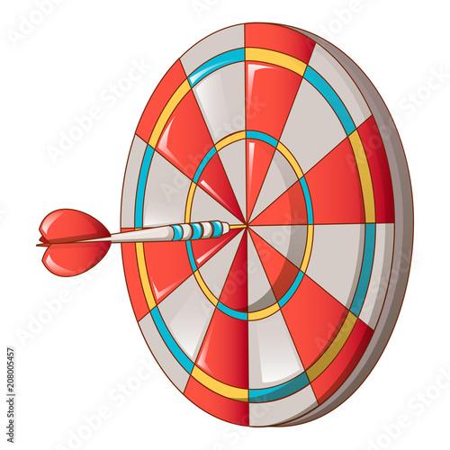 Fotografía  Hit darts target icon