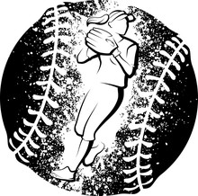 Softball Player Throwing With ...