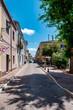 Street in sardinian city of Porto Torres