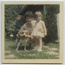 Vintage Photo Of Young Mother ...