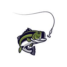 Fish Vector Mascot Icon Illust...