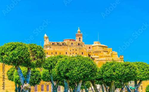 Fotografía View of the Il-Kastell citadel in Victoria, Gozo, Malta