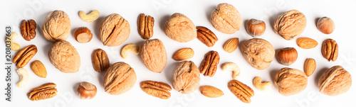 Fotografía Pattern of nuts mix