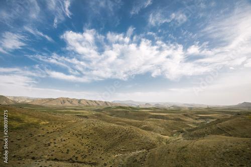 Fotobehang Landschappen landscape of uzbekistan