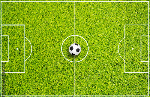 Obraz Fußballspielfeld - fototapety do salonu
