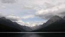 Clouds Over Bowman Lake In Gla...