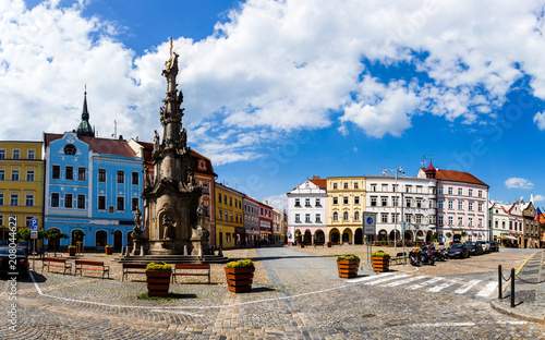 Fotobehang Praag Jindrichuv Hradec. City in South Bohemian region, Czech Republic, Central Europe.