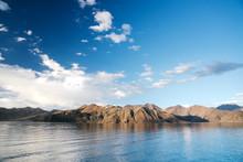Panoramic Shot Of Sparkling Bl...