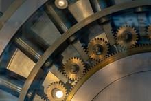 Safe Strongbox Bank Vault