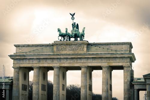 Zdjęcie XXL brama berlińska brandenburgia