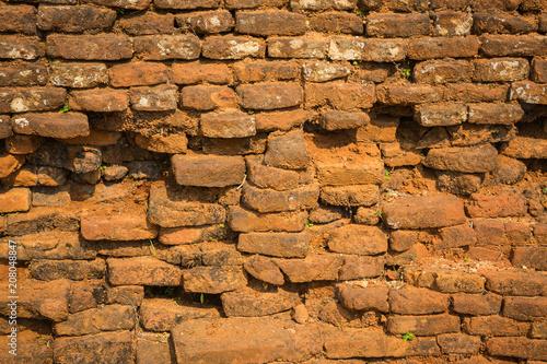 Foto op Plexiglas Wand Brick wall