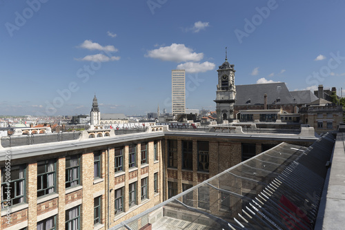 Foto op Canvas Brussel Views of the city of Brussels in Belgium.