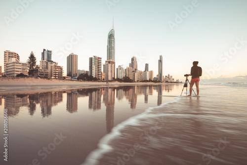 Fotobehang Oceanië Surfers Paradise skyline, Australia