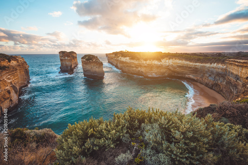 Cadres-photo bureau Australie Loch ard Gorge, Port Campbell National Park, Australia