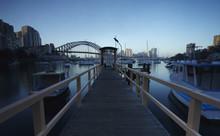 Sydney Harbor Bridge Over Lave...