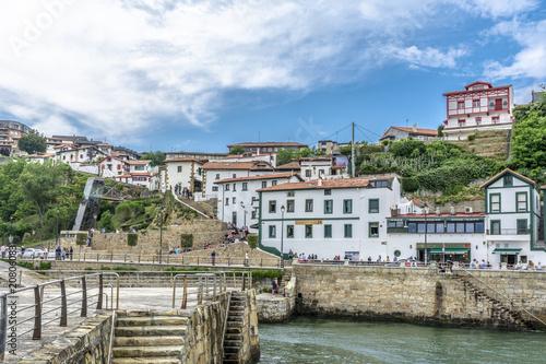 Casas de pescadores en el Puerto Viejo de Algorta, Getxo
