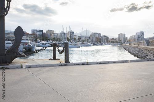 Fotografía  Puerto de Gandia durante el día