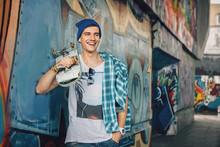 Man Skateboarder Lifestyle Rel...