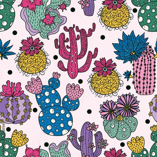 sliczny-kaktus-kolorowy-wzor