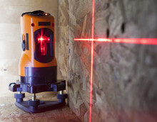 Laser Measurement Level For Construction Works, Small Depth Of Sharpness