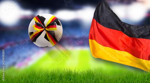 fussball deutschland hintergrund  kaufen sie dieses foto