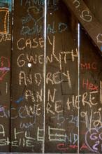 Graffiti Along The Inner Walls...