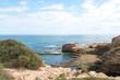 rock pools in australia horizon