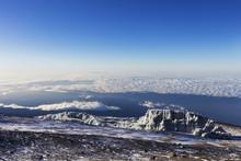 Summit Views And Receding Glac...