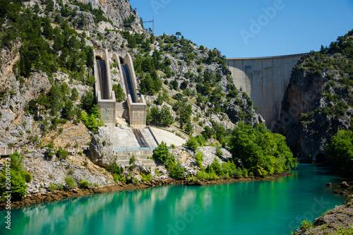 Fotografie, Obraz Green Canyon,Manavgat