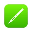Mod and clearomizer in the kit icon digital green for any design isolated on white vector illustration
