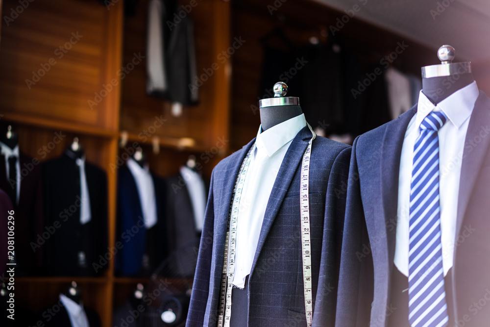 Fototapeta luxury suit in shop