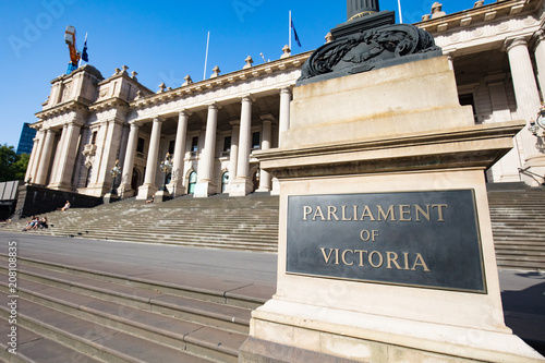 Fotobehang Oceanië Parliament House Melbourne