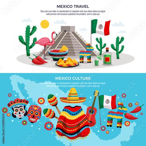 Fotografía  Mexico Travel Banners