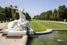 Schwetzingen, Germany. Gardens Of The Schwetzingen Palace (Schloss Schwetzingen), Ancient Summer Residence Of The Electors Palatine Charles III Philip And Charles IV Theodore In Baden-Wurttemberg