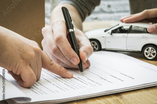 Auto Insurance Policy Signature Home Owners Insurance Paperwork