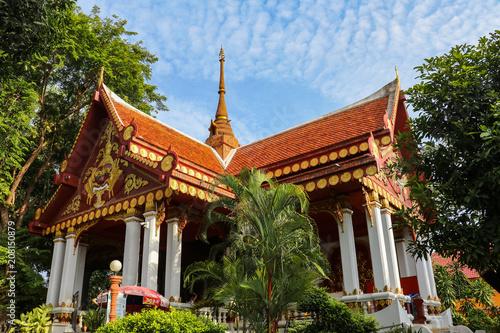 Deurstickers Bedehuis The Mummified Monk temple in Koh Samui, Thailand