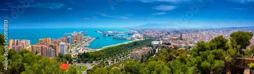 View on Malaga