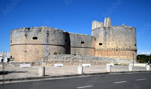 Keuken foto achterwand Historisch geb. Castello di Otranto Puglia South Italia Καστέλλο ντι Οτράντο Château d'Otrante Замок Отранто Apulia